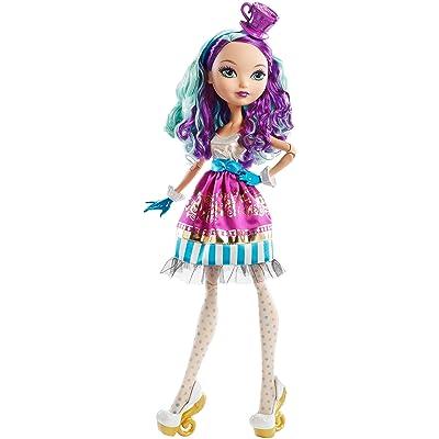"""Ever After High Way Too Wonderland Madeline Hatter 17"""" Doll: Toys & Games"""