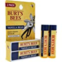 2-Pack Burt's Bees Vanilla Bean 100% Natural Moisturizing Lip Balm