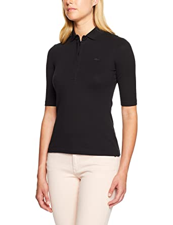 7934bab9a Lacoste Women s Slim Fit Stretch 3 4 Sleeve Polo  Amazon.com.au  Fashion