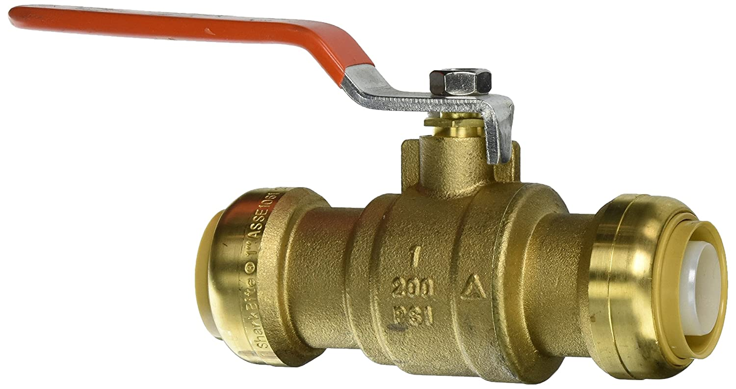 "SharkBite 22306-0000LF 1"" Ball Valve with Drain Lead Free, 1"""