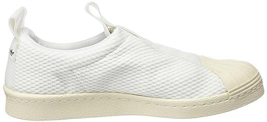 adidas Damen Superstar Bw3S Slipon W Fitnessschuhe, Verschiedene Farben (Icey Pink F17/Icey Pink F17/Off White), 36 2/3 EU