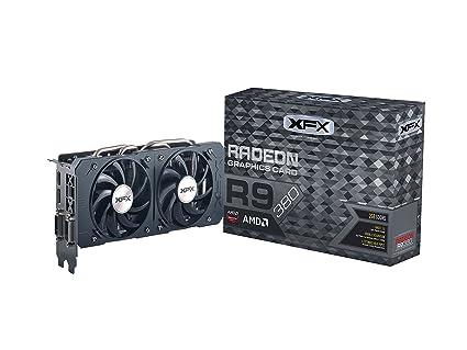 XFX R9-380P-2DF5 Radeon R9 380 2GB GDDR5 - Tarjeta gráfica (Radeon R9 380, 2 GB, GDDR5, 256 bit, 4096 x 2160 Pixeles, PCI Express 3.0)