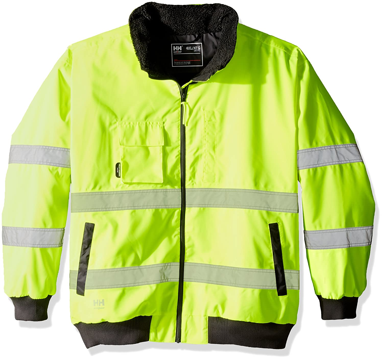 Helly HansenワークウェアMen 's ALTAパイロットhigh-visibility Big and Tallジャケット B01IQYXIKA 5L|Hi Viz Yellow Hi Viz Yellow 5L