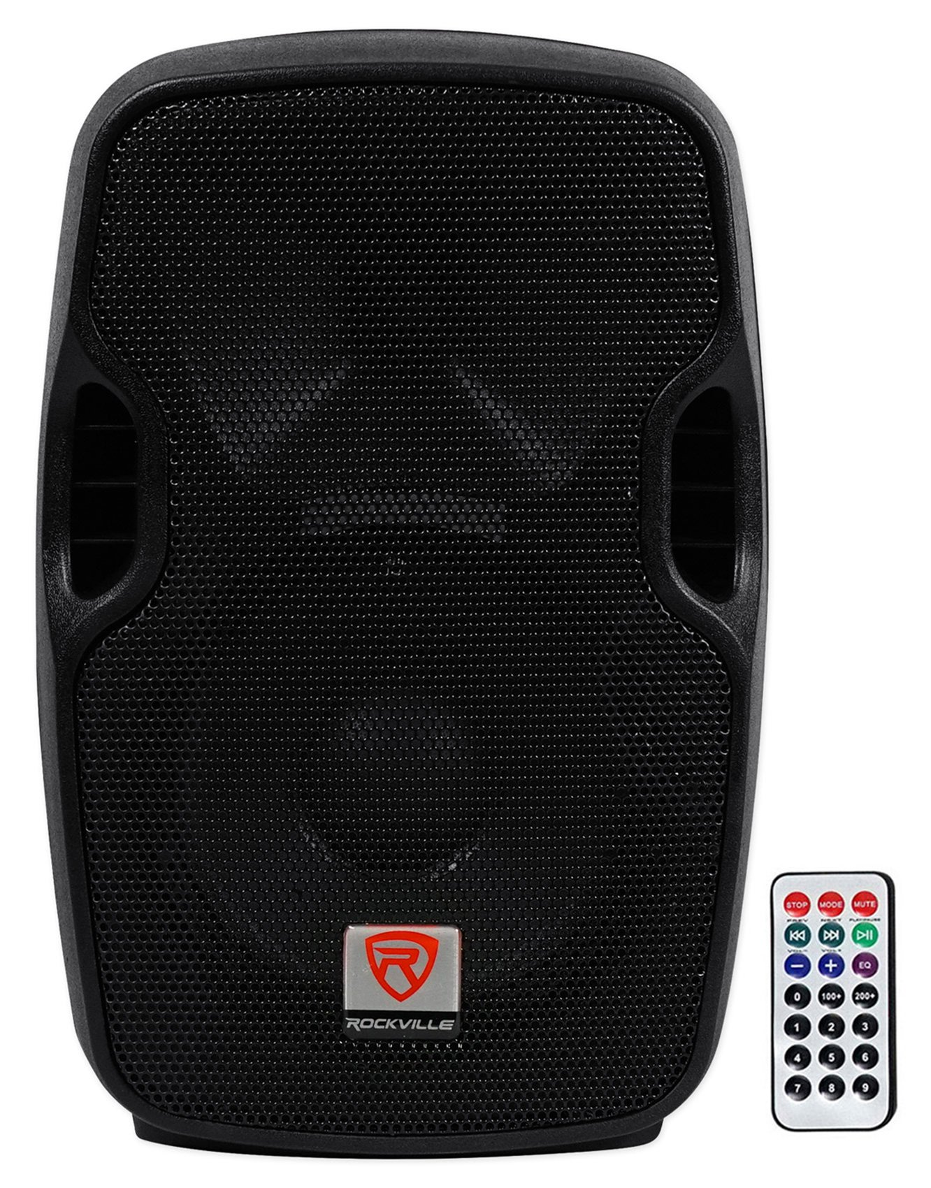 Rockville BPA8 8'' Professional Powered Active 300w DJ PA Speaker w Bluetooth