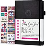 GoGirl Budget Planner – Monthly Financial Planner Organizer Budget Book. Expense Tracker Notebook Journal to Control…