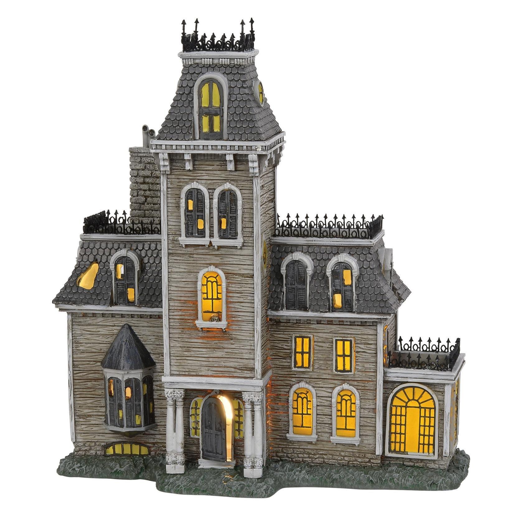 Department56 Addams Family Village House Lit Building 10.87'' Multicolor
