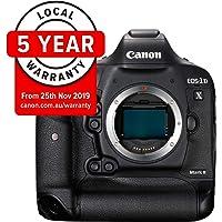 Canon EOS-1DX Mark II Body Digital Camera - SLR(1DXIIB) 3.2Inch Display,Black (Australian warranty)