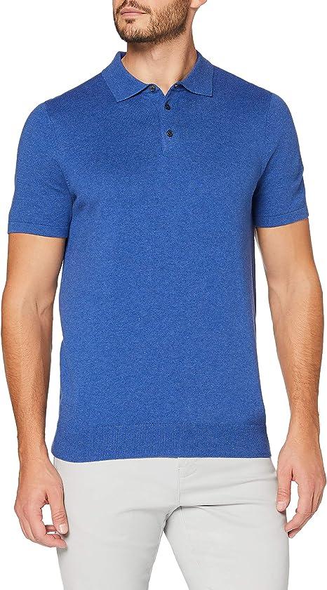MERAKI Men's Long Sleeve Polo Shirt