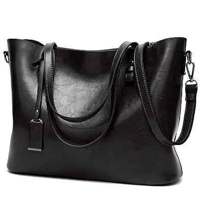 BNWVC Women Top Handle Satchel Handbags Tote Purse Shoulder Bag ...
