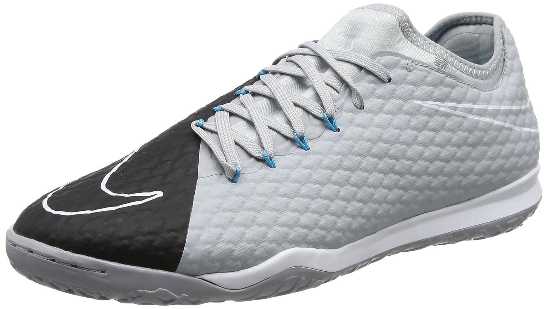 Nike Herren Hypervenom X Finale II IC 852572 004 Fußballschuhe, Grau (Wolf schwarz Chlorine Blau dk Grau pu), 46 EU