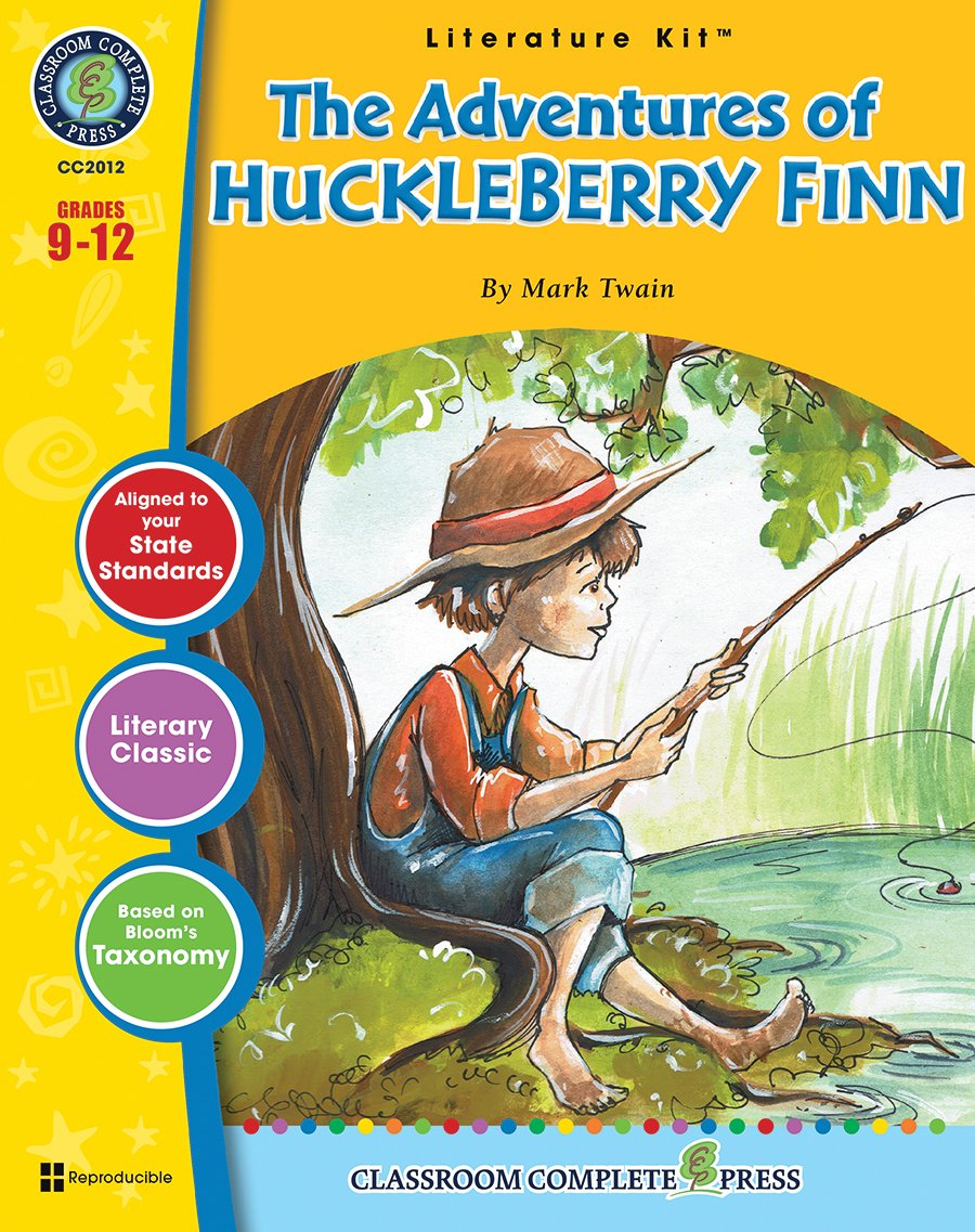 The Adventures of Huckleberry Finn - Novel Study Guide Gr. 9-12 - Classroom  Complete Press: Chad Ibbotson: 9781771672399: Amazon.com: Books