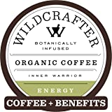 Wildcrafter Botanicals Organic Coffee K Cups - Natural Energy Booster Infused with a Rhodiola, Maca Root & Lions Mane…