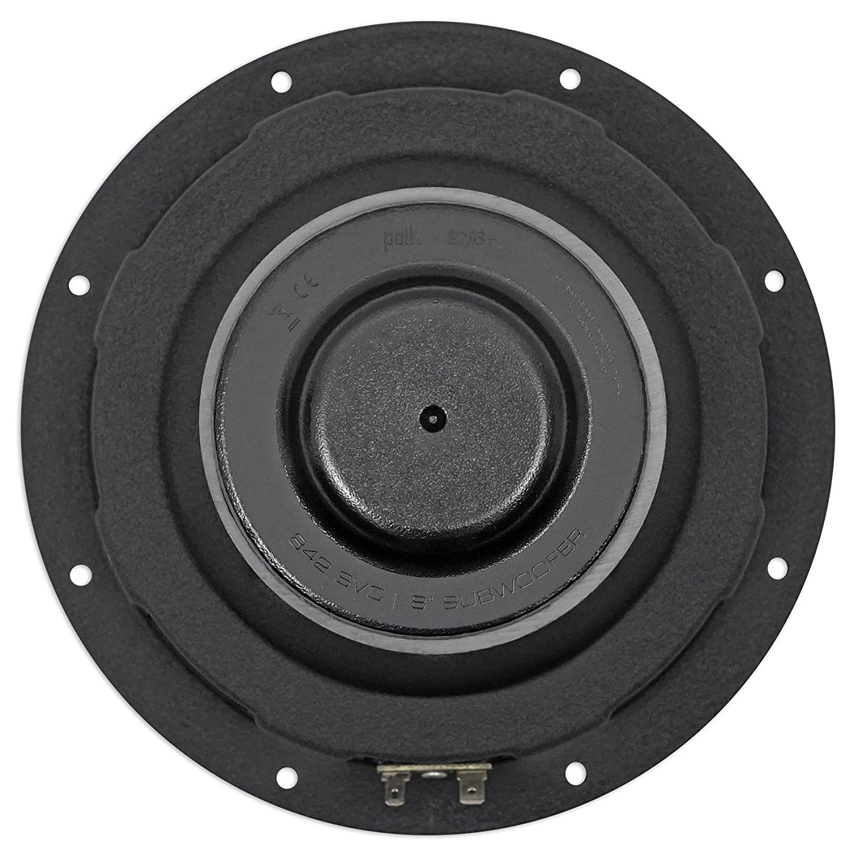 "Amazon.com: Polk Audio DB842SVC 8"" 750 Watt Car/Marine Boat Audio Subwoofer Sub+Free Speaker: Car Electronics"