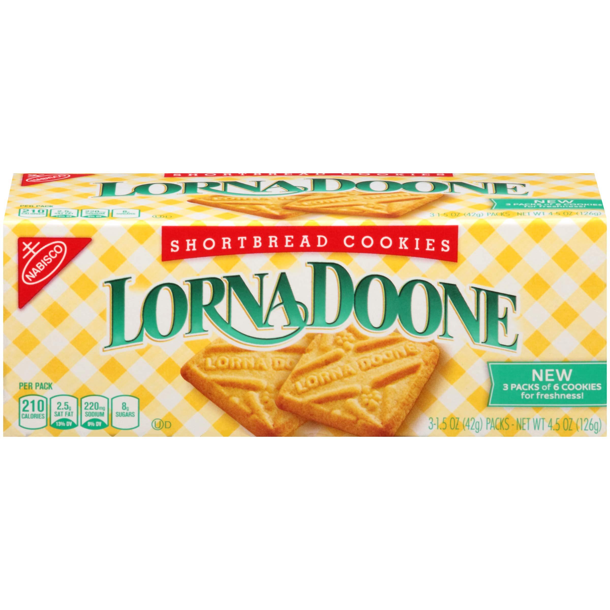 Lorna Doone Shortbread Cookies, 4.5 Ounce (Pack of 12)