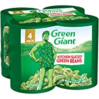 Deals on Green Giant Kitchen Sliced Green Beans, 4 Pack of 14.5 Ounce Cans