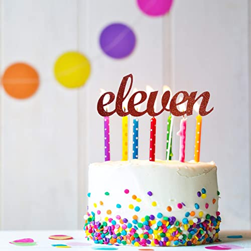 Amazon Eleven Cake Topper 11th Birthday Eleventh