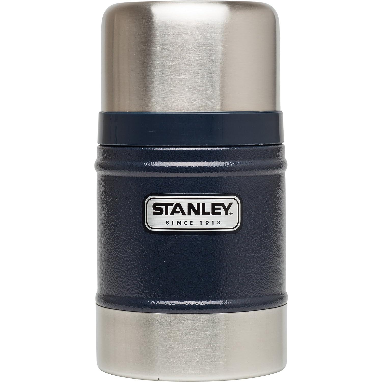 Stanley Classic Vacuum Food Jar 17oz Hammertone Green 10-00131-019