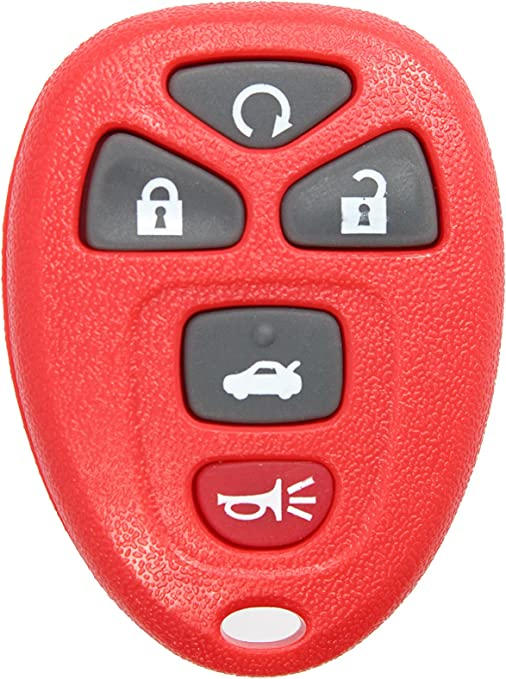 Pack of 2 KeylessOption Keyless Entry Remote Control Car Key Fob Replacement for 15912860 with Key