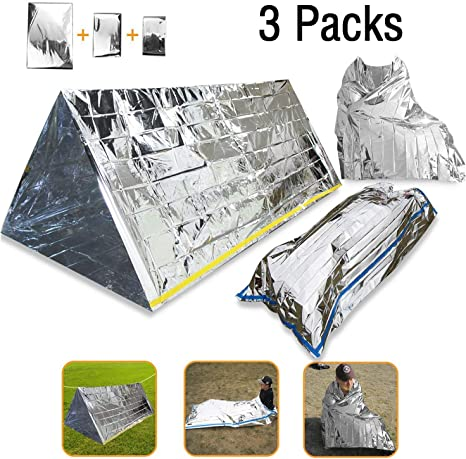Outdoor Travel Emergency Survival Sleeping Bag Survival Blanket Warm cloth UK