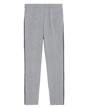 meilleure sélection 50fc8 91079 Zara Femme Pantalon de Jogging à Bande latérale 1608/031 ...