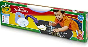 Crayola My First Portable Chalkboard Kit: Art Supplies For Kids