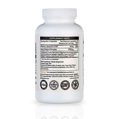 Amazon.com: aimaktiv Multi Collagen Pills with Vitamin C ...