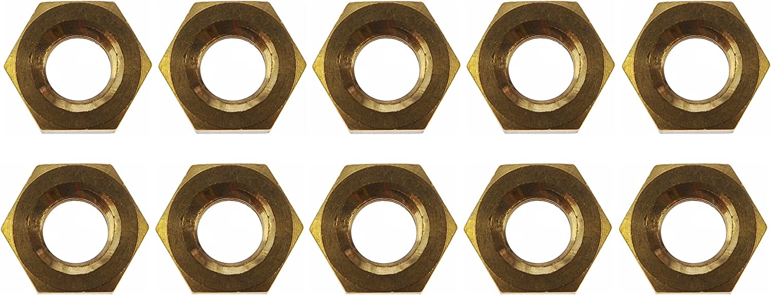 Dorman 03424 Brass Exhaust Nut 10 Pack