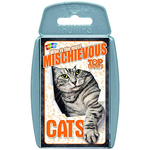 Top Trumps Cats Card Game