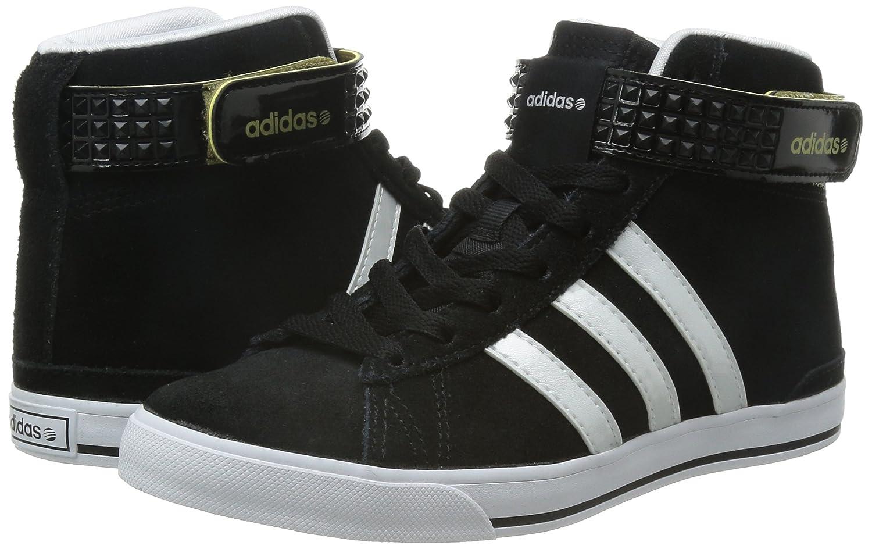 best service c1d70 2cbdf Adidas Daily Twist Mid noir, baskets mode femme, Noir-Blanc, 36 Amazon.fr  Chaussures et Sacs