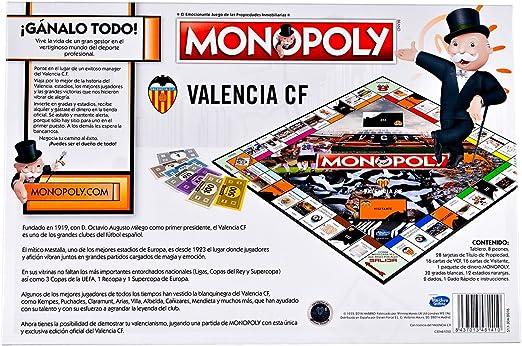 Valencia CF Monopoly (81410), Multicolor, Ninguna: Amazon.es: Juguetes y juegos