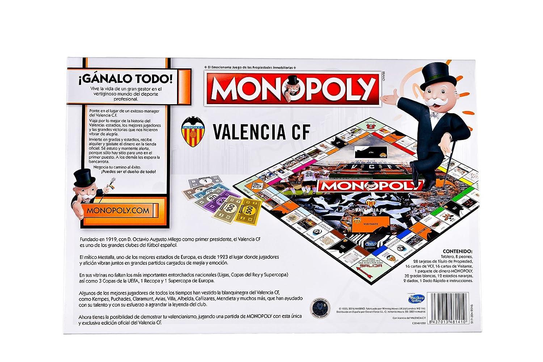 Amazon.com: Monopoly Valencia cf: Toys & Games