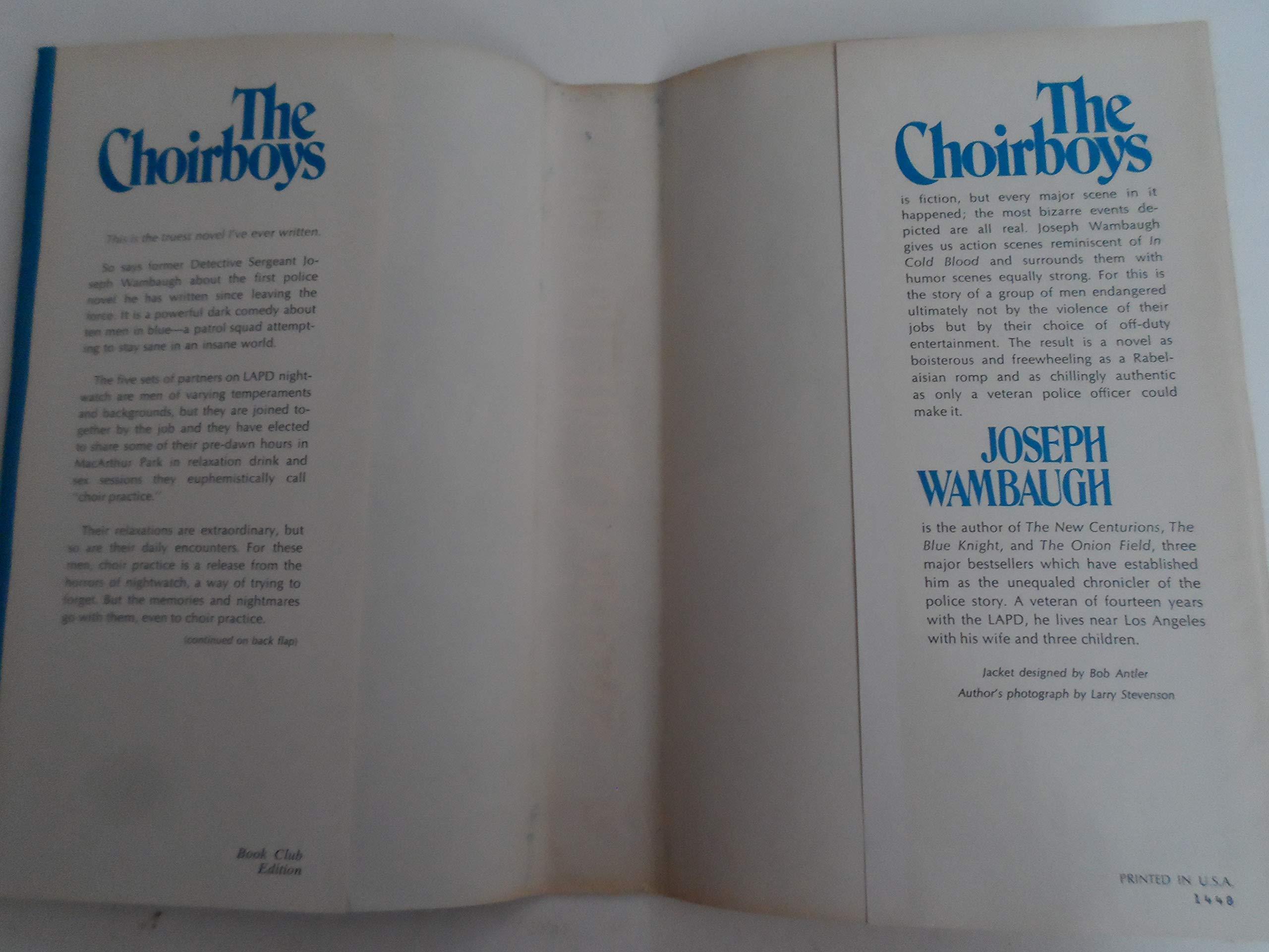 f6fa6e6b8c7 The Choir Boys: Amazon.com: Books
