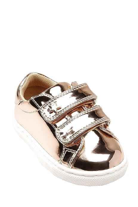 Next Niñas Zapatillas (Niña pequeña) Corte Estándar Oro Rosado EU 30.5: Amazon.es: Zapatos y complementos