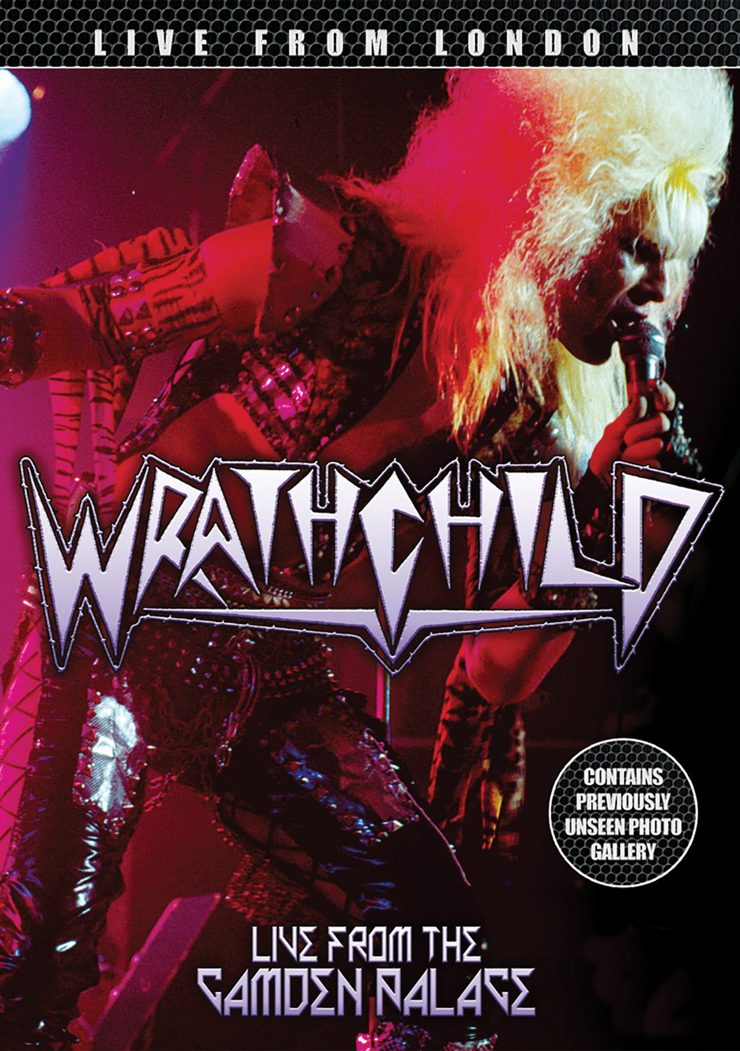 DVD : Wrathchild - Live From London (DVD)
