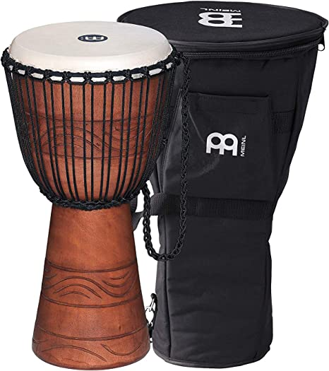 Multicolor African Drum Djembe Bag Padded Bag For Percussion Instrument Accessories 10inch