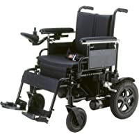 "Drive Medical Cirrus Plus Ec Folding Power Wheelchair, Rear-Wheel Drive, 18"" Sling Seat, 1 Count"