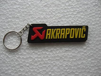 Llavero para motero Akrapovic, motociclismo, MC escape GT ...