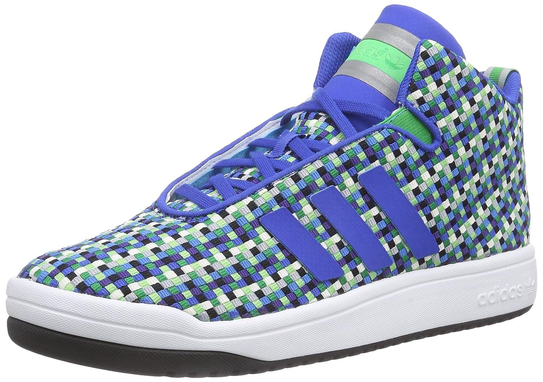 adidas Originals Herren Veritas Weave Mid High Top Blau Blue