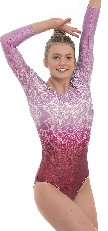 Velocity Dancewear Impulse Gymnastics Leotards for Girls Long Sleeve