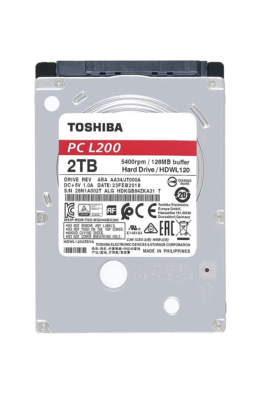 Toshiba HDWL120UZSVA - Disco Duro Interno de 2 TB, Color Gris 203031