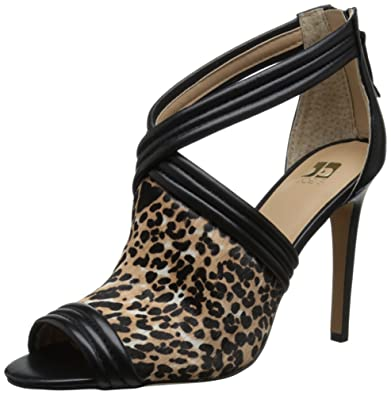 Joe's Jeans Women's Dexter Dress Pump, Black/Natural Leopard, ...