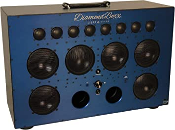 Amazon.com: Altavoz inalámbrico bluetooth/boombox diamondboxx