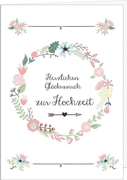 Sophies Kartenwelt - Tarjeta de felicitación para boda (tamaño A4 ...