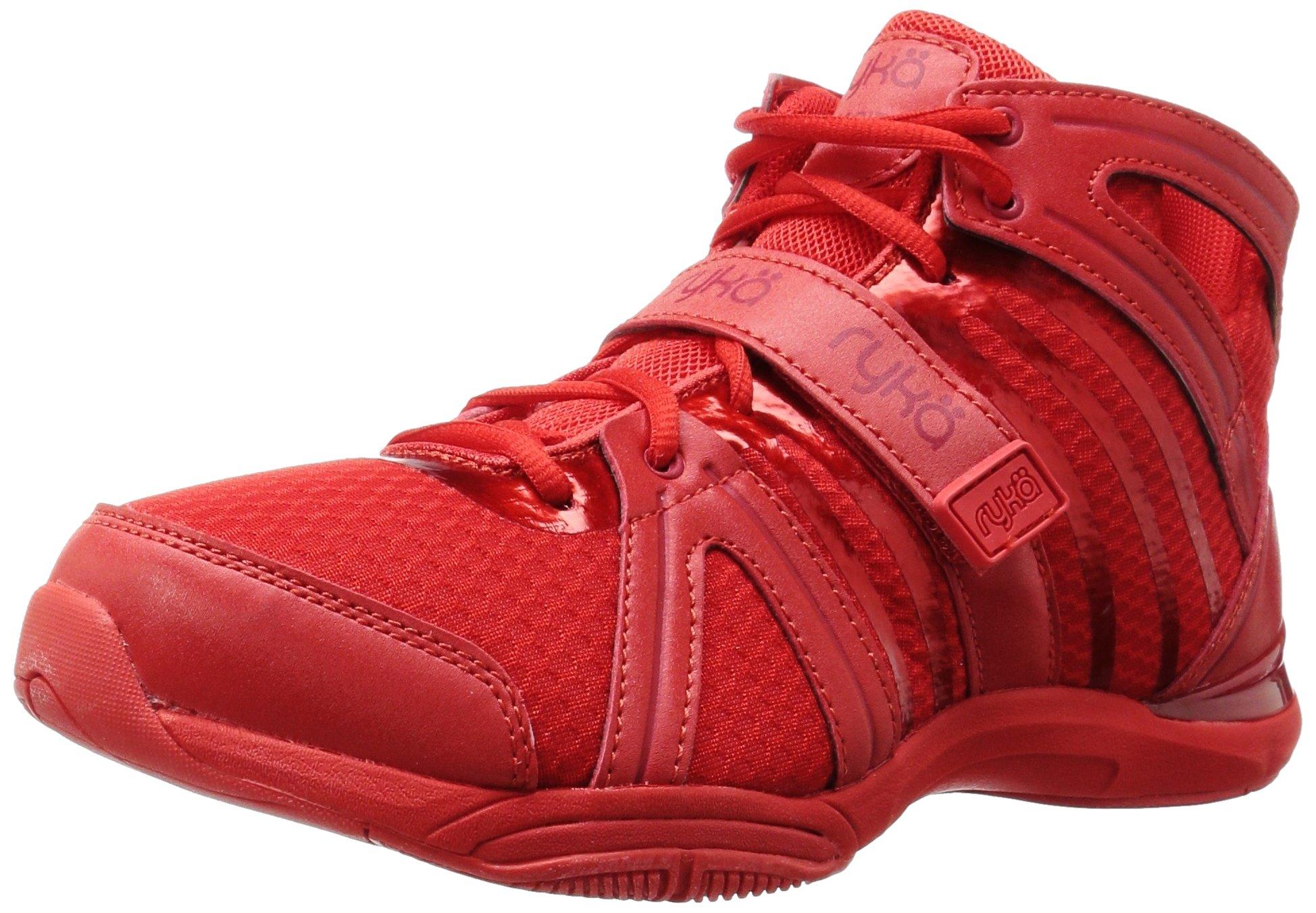 Ryka Women's Tenacity Cross-Trainer Shoe, Red, 9 M US