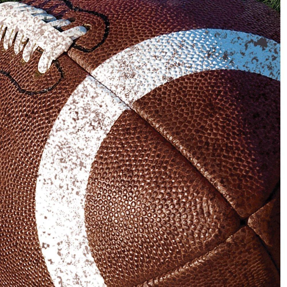 バルクパックテールゲートRush Football Super BowlパーティーLuncheon / Dinner Napkins for 72   B078VHVRYT