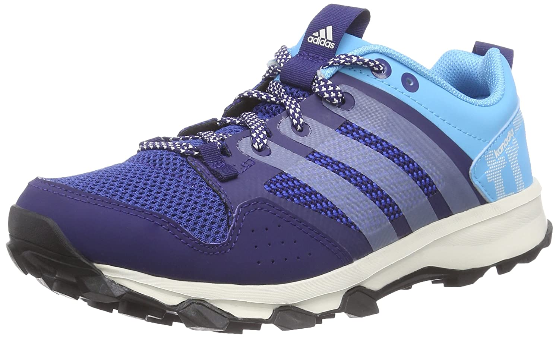 adidas Kanadia 7 Trail Damen Traillaufschuhe  36 2/3 EU|Blau (Midnight Indigo F15/Chalk White/Bright Cyan)