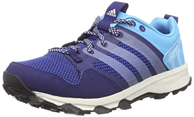 arrives ba7d8 3836d adidas Women s Kanadia 7 Trail Trail Running Shoes Blue Size  3.5 UK (36 EU