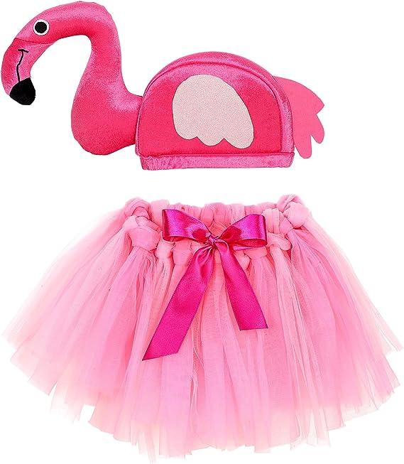 WIDMANN 96535 Disfraz Para Niños, diseño de flamencos Chica, Color ...