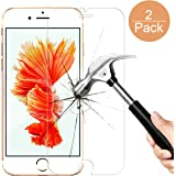 iPhone 6/6S Plus Screen Protector, Getron [3D Touch Compatible][Premium Tempered Glass] Screen Protector with [9H Hardness] [Bubble-Free Installation] for Apple iPhone 6/6S Plus (5.5 inch) (2 Pack)