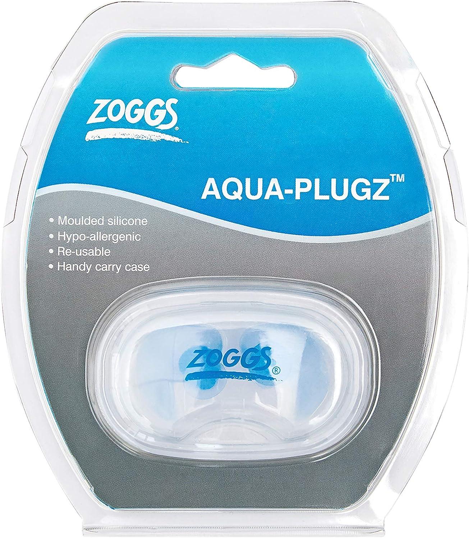 NEW Zoggs Aqua Bouchons doreilles en silicone hypoallerg/énique moul/é Ultra confortable Plugz